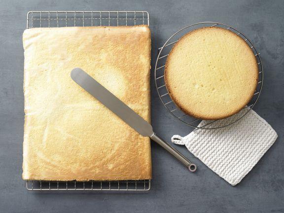 Sponge Cake with Spelt Flour