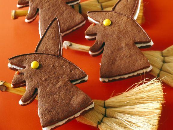 Spooky Broom Cookies