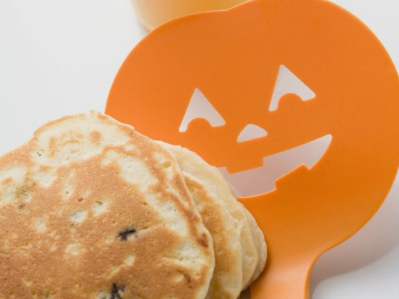 Spooky Pancake Stack