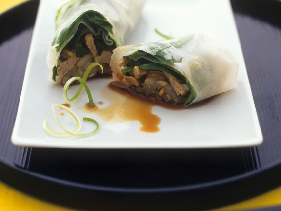 Asian Beef Wrappers
