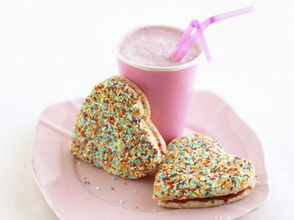 Sprinkle Cookies for Valentine's Day