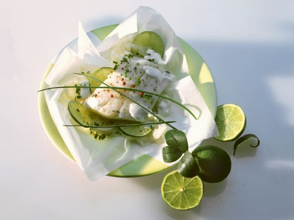 Steamed Cod with Lime