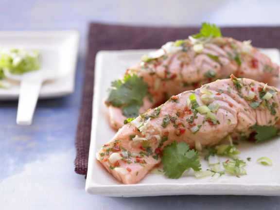 Steamed Salmon Fillet