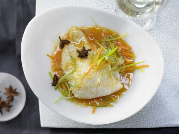 Steamed Turbot