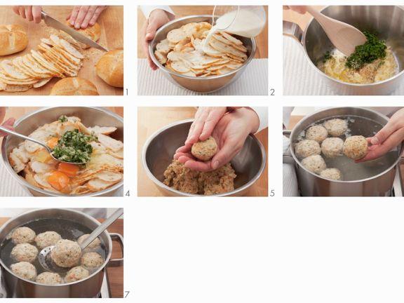 Step-by-step Dumplings