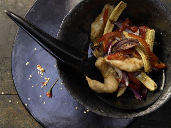 Stir-Fried Catfish