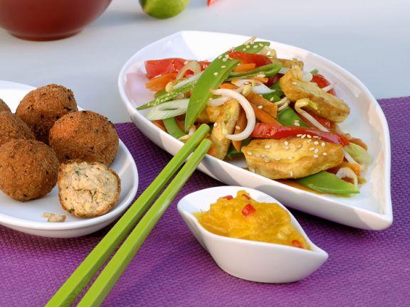 Stir-Fried Vegetables with Chicken