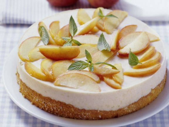 Stone Fruit Cream Cheese Cake