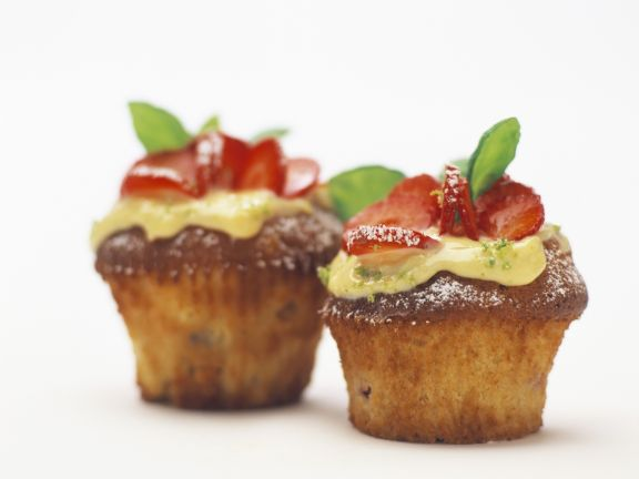 Strawberry-Lime Muffins