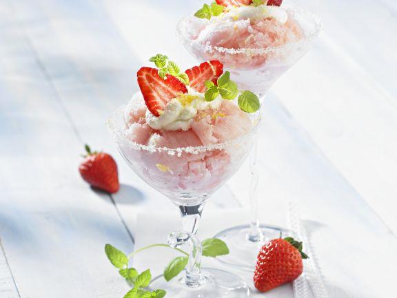 Frozen Berry Iced Dessert