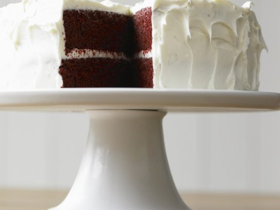 Sugar Free Cream Cheese Red Velvet Layer Cake