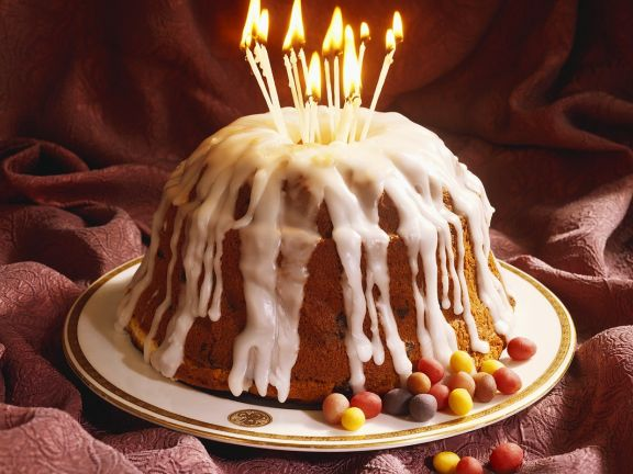 Sugar Glazed Bundt Cake