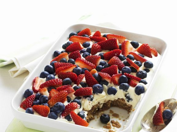 Summer Fruit Layer Pudding