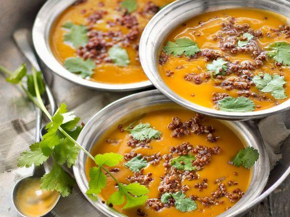 Sweet Potato and Quinoa Soup