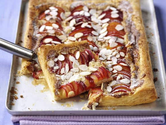 Sweet Stone Fruit Tart
