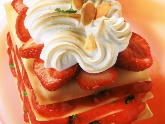 Sweet Strawberry Lasagna