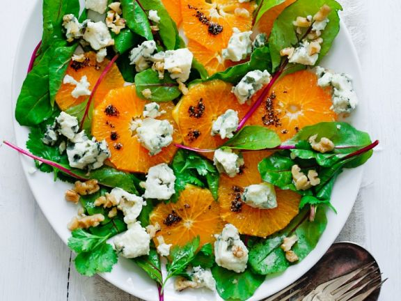 Fruity chard salad