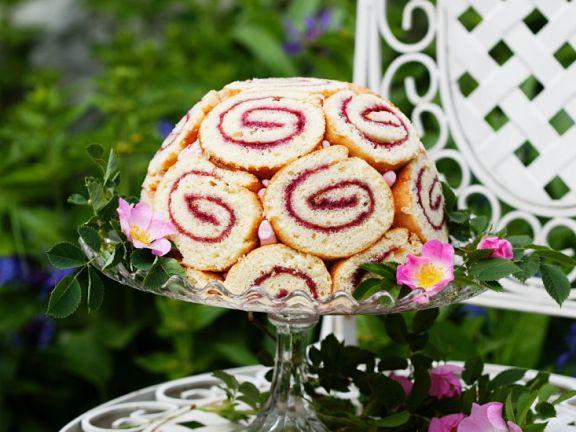 Swiss Roll Pudding