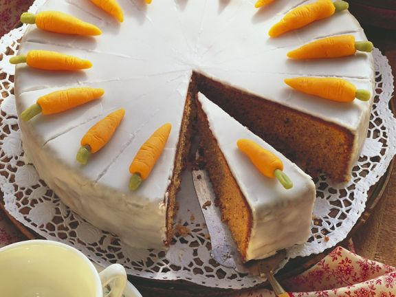 Swiss Style Carrot Cake