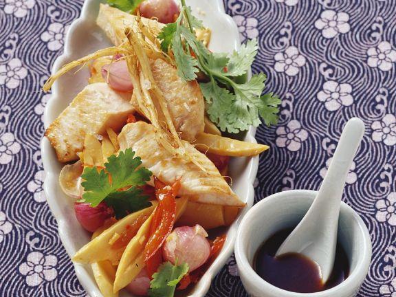 Swordfish with Vegetables