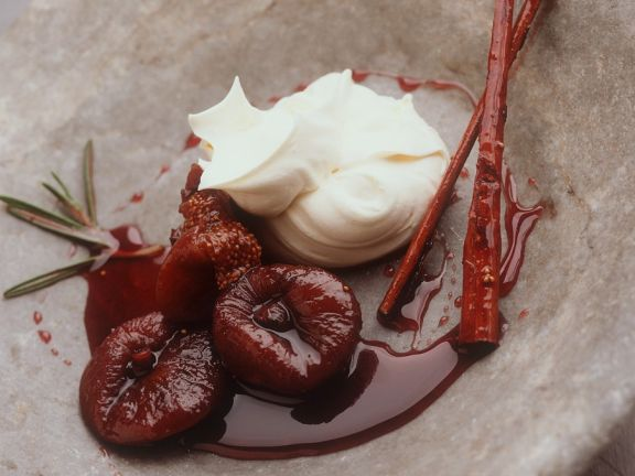 Syrupy Soft Fruit Dessert
