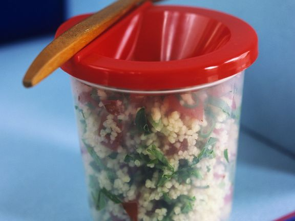 Tabbouleh with Tomatoes