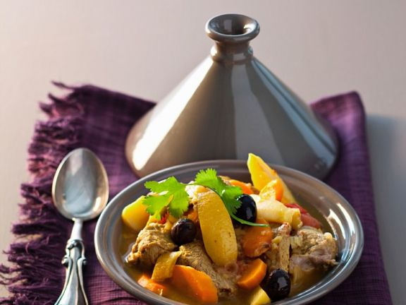 Tagine with Lamb and Vegetables