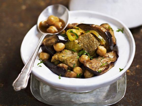 Tajine with Beef and Eggplant