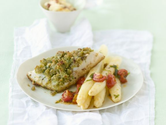 White Fish Fillet with Herbs