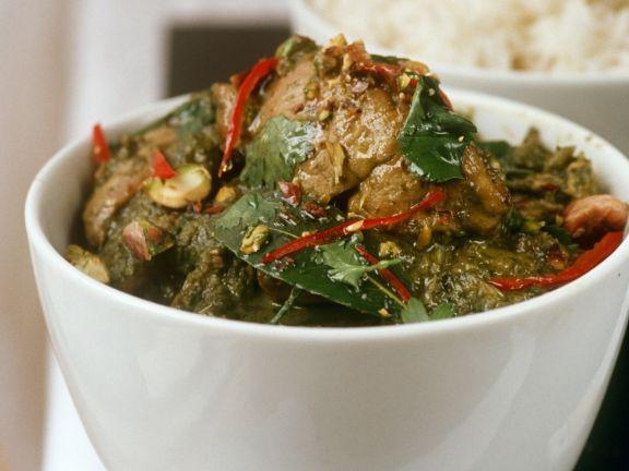 Thai Curried Chicken