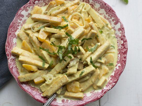 Thai Green Carrot and Tofu Curry