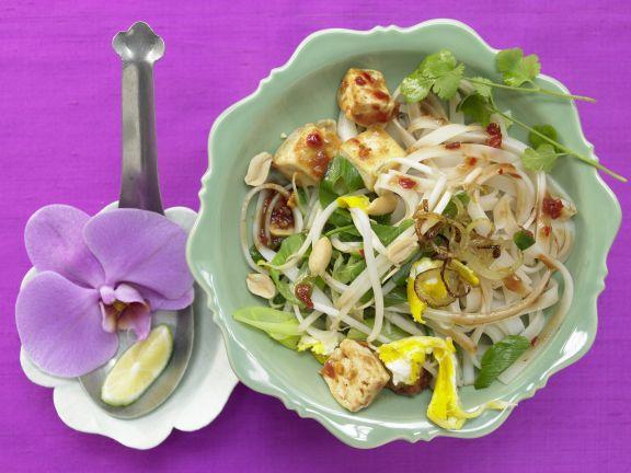Thai Rice Noodle Stir-Fry