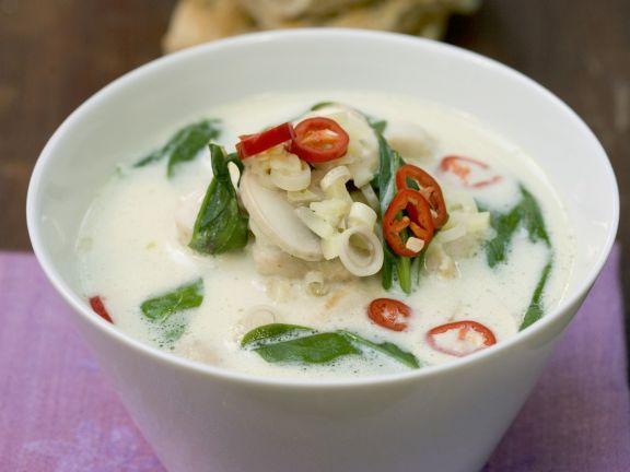 Thai-style Creamy Chicken Broth