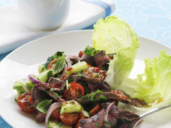 Thai-style Sliced Steak Salad