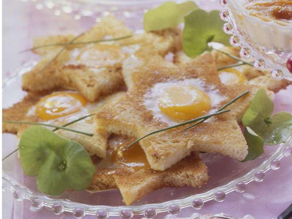 Toasted Egg Stars