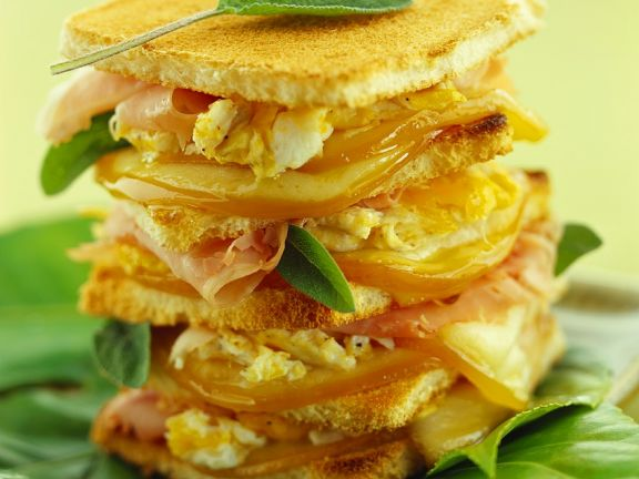Toasted Italian Egg Sandwich