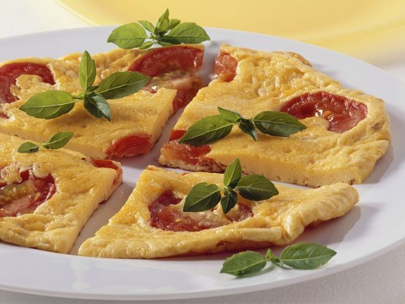 Tomato and Cheese Frittata
