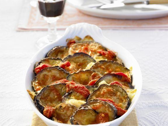 Tomato and Eggplant Gratin