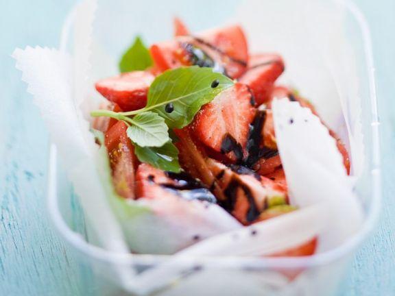 Tomato and Strawberry Salad