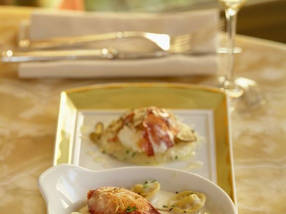 Tortellini with Lobster