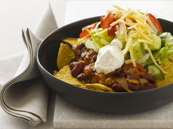 Tortillas with Spicy Beef and Toppings