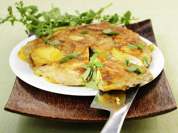 Tortilla with Herbs