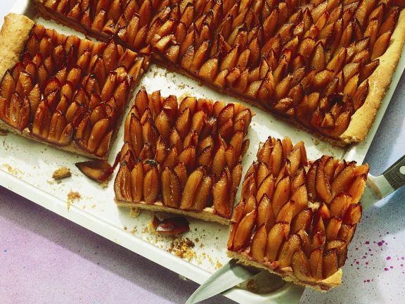 Traditional German Plum Cake