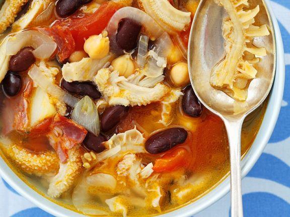 Tripe Soup with Chorizo