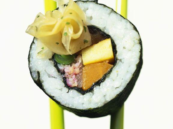 Tuna and Crab Maki Rolls