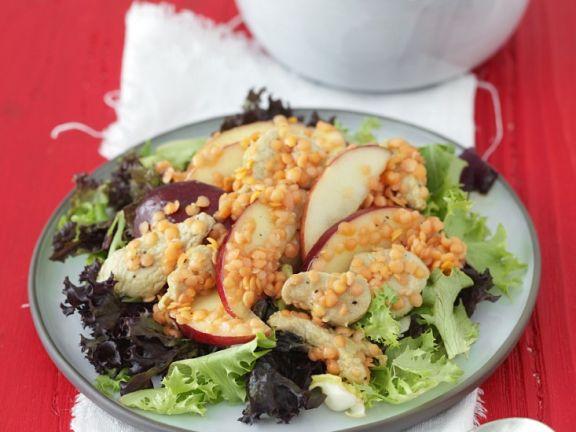 Turkey and Lentil Salad