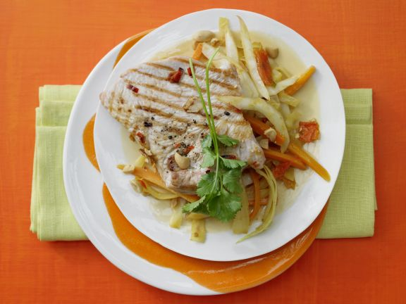 Turkey with Coconut Curry