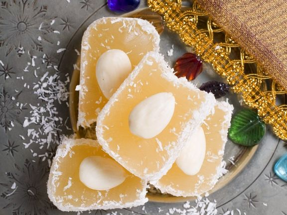 Turkish Delight (Lokum) with Almonds and Coconut recipe | Eat Smarter USA
