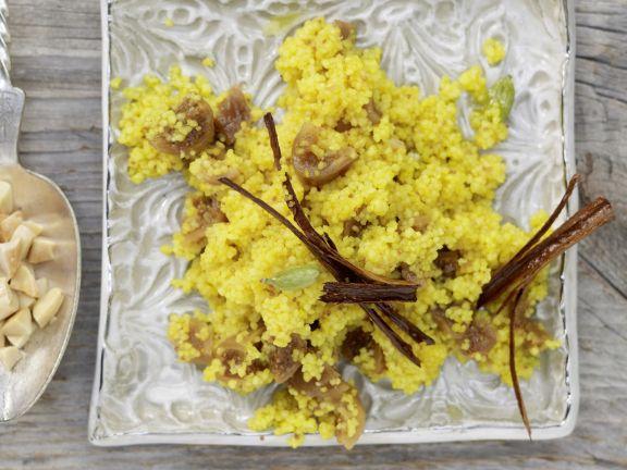 Turmeric Spiced Couscous