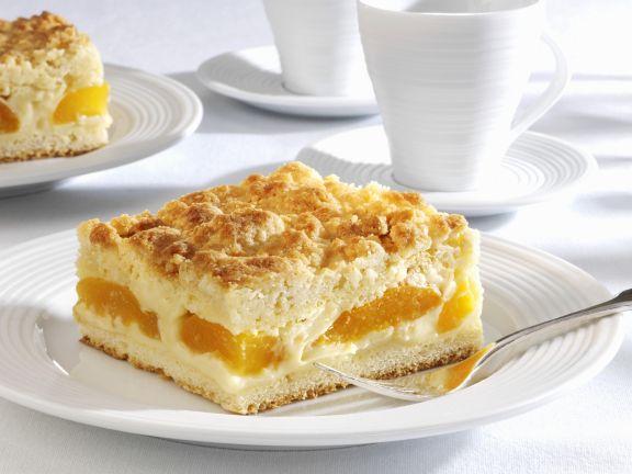Vanilla Pudding Cake With Apricots Recipe Eatsmarter